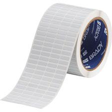 White Brady THT-14-727-10 Thermal Transfer Printer Label