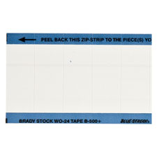 brady part wo 24 blank write on calibration labels. Black Bedroom Furniture Sets. Home Design Ideas