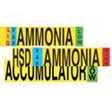 Ammonia (IIAR) Pipe Markers