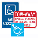 Disabled Access Signs