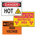 Electrical and Equipment Safety Signs