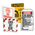 Lockout Tagout Tags, Labels and Signs