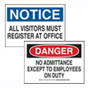 Office and Facility Signs