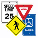 Parking, Traffic and Road Signs