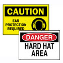 Safety Awareness and PPE Signs, Labels and Scorecards