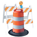 Traffic Barrels, Barricades and Bumps