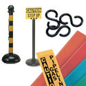 Warning Posts, Chains and Stakes