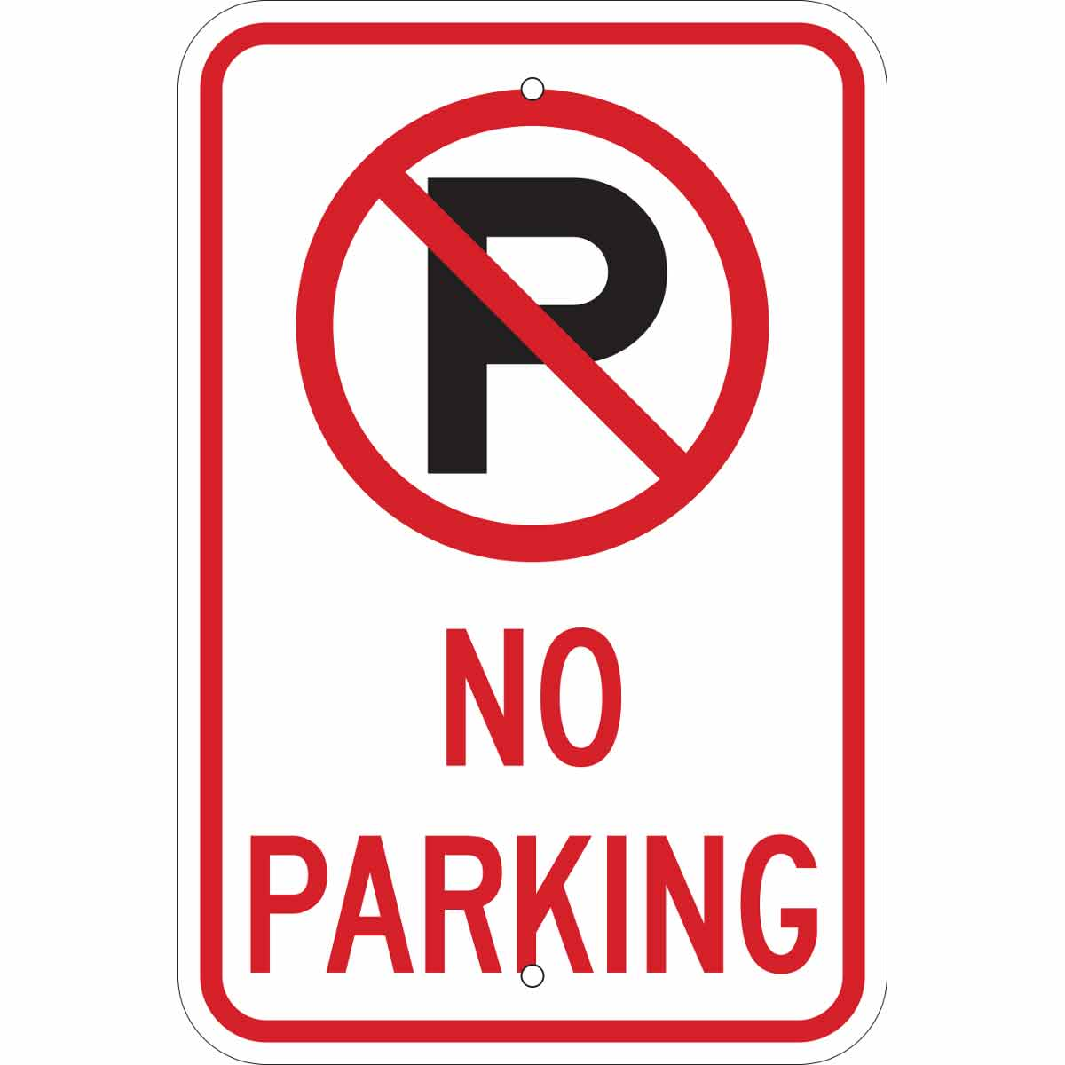 Gratifying image with regard to printable no parking signs
