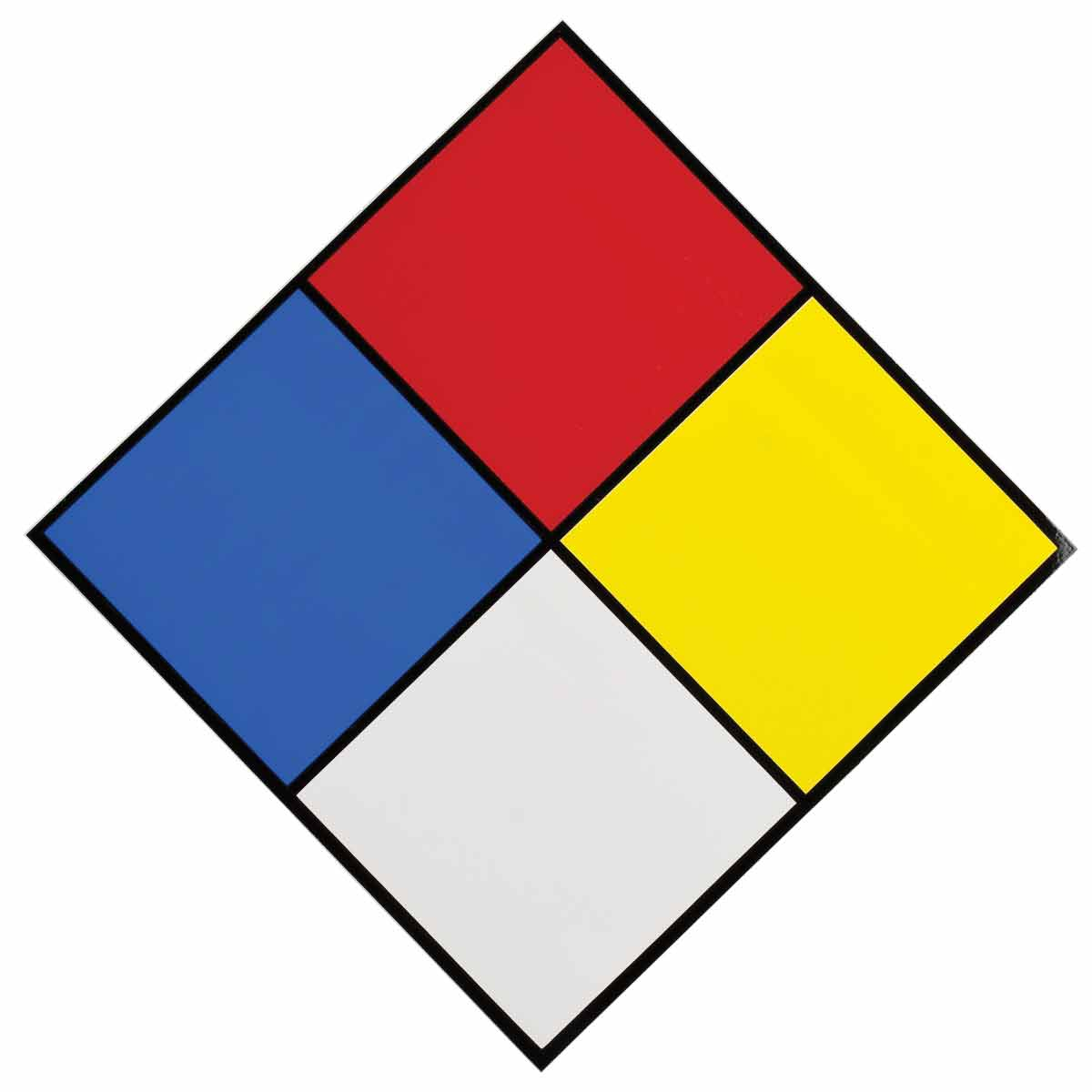 Hazardous Material Diamond: NFPA Diamond Labels